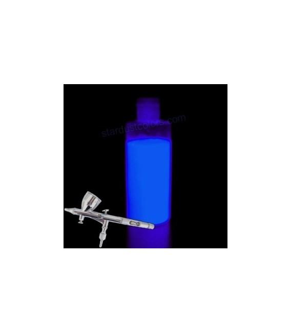 Peinture photoluminescente pour aérographe BLEUE
