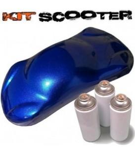 Kit peinture scooter Diamant bleu nuit