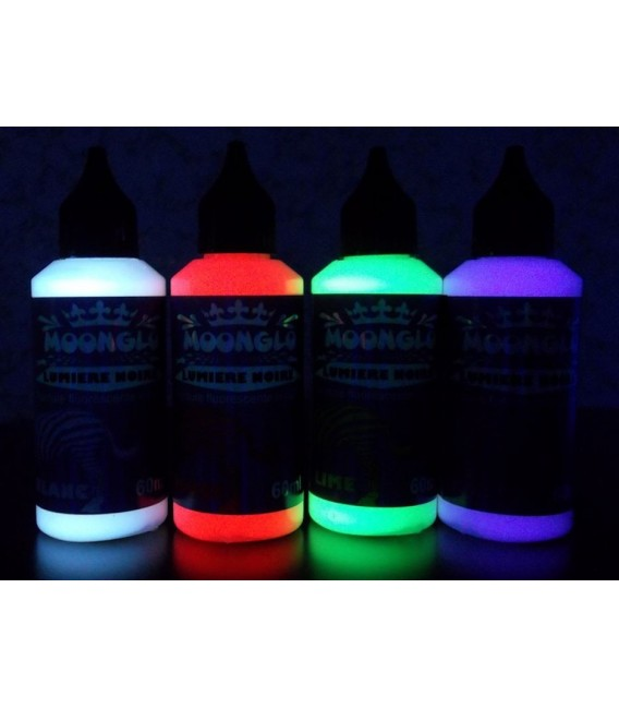 Zestaw Blacklight 4 kolory specjalne