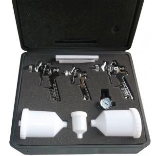 H827- Zestaw 3 pistoletów 0.8mm-1.4mm-1.7mm