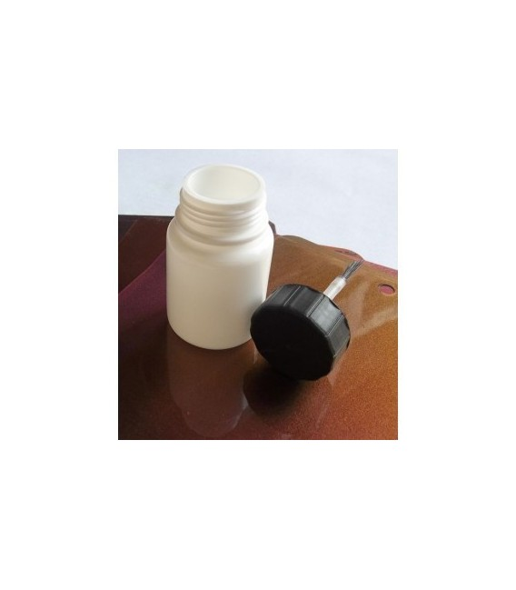 Pojemniczek z pędzelkiem do poprawek (zestaw 5 sztuk)