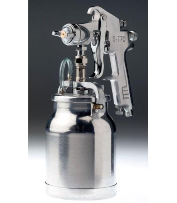 Pistolet natryskowy 1,8 mm, zasysajacy ze zbiornikiem