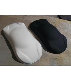 Lakier Czarny / Biały Mat
