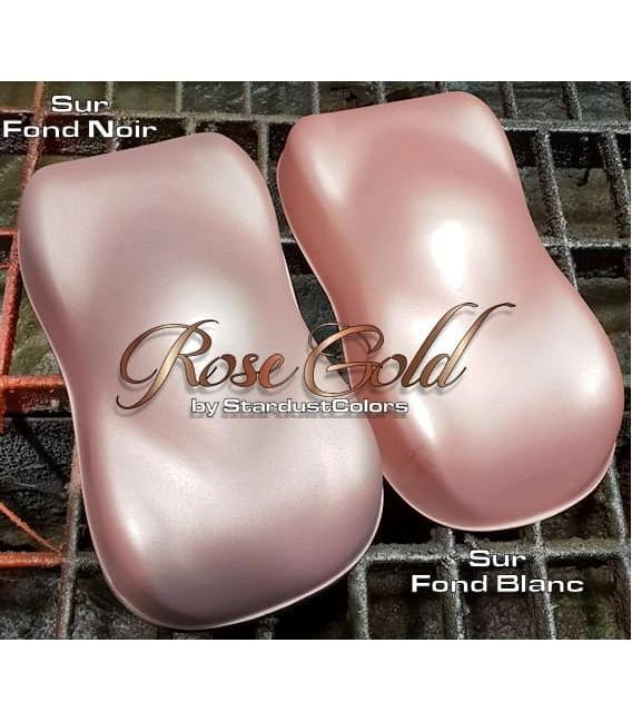 Różowa metaliczna farba złota