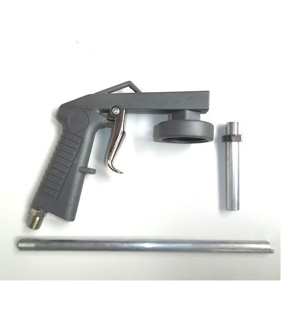 Czarnawy pistolet przeciw grypie