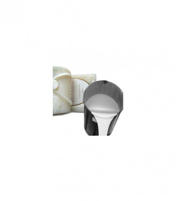 Silikon do formowania, płynny, biały 1 L z katalizatorem 50 g Silistar