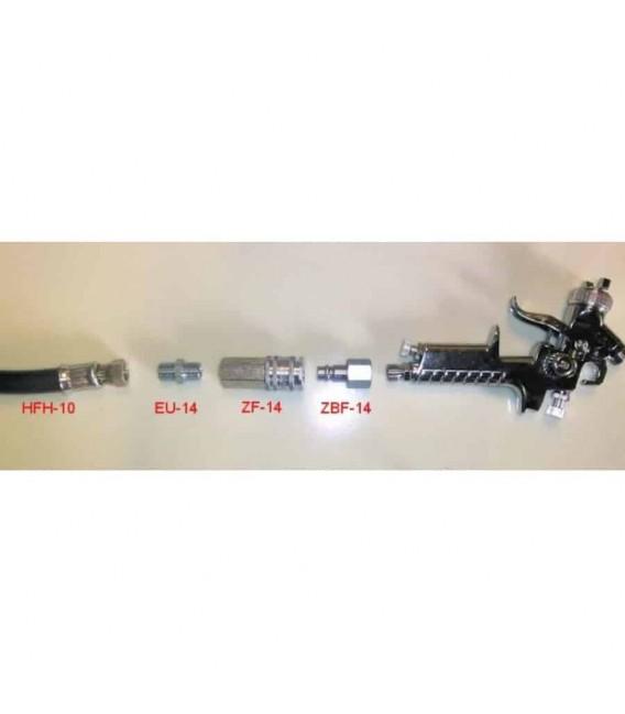 Zestaw połączeń pneumatycznych do szybkiej naprawy