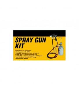 Pistolet i kompletny pojemnik ciśnieniowy