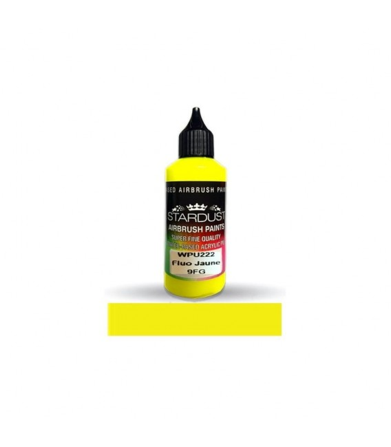 Seria Fluorescencyjna 1 L - 11 farb akrylowych - PU do aerografu