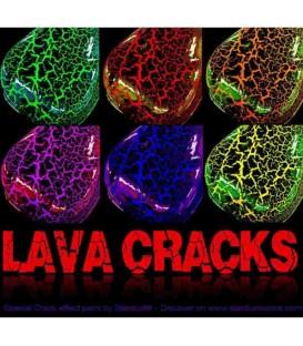Lakier o efekcie pękającym - LAVA CRACKS