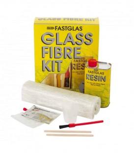 Zestaw żywicy i włókna szklanego