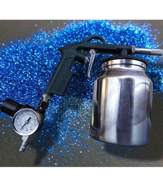 Pistolet Flakebuster do rozpylania piasku wysokiej jakości z regulacją ciśnienia