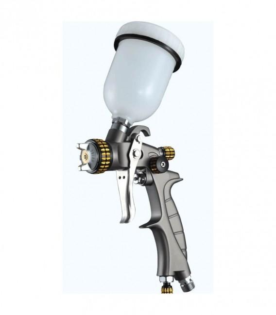 Mały pistolet SAT HVLP Premium 0.8 mm + dysza 1.0 mm