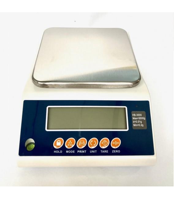 Profesjonalna waga elektroniczna, największa precyzja, 3 kg
