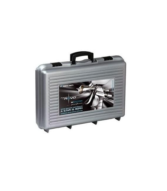 WALIZKA 2 PISTOLETY IWATA - LS400 Entech + WS400 EvoClear