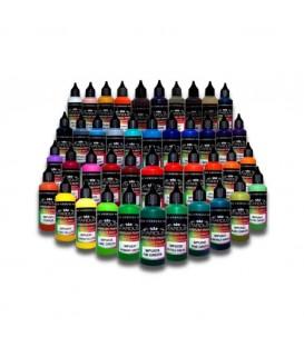 Akrylowe farby matowe do aerografu - Wersja 250ml / 1L - 43 różne kolory