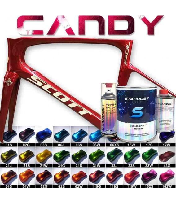 Kompletny zestaw lakierów Candy do rowerów