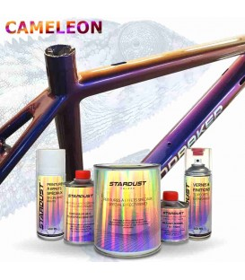 Kompletny zestaw do rowerów – lakier o efekcie Kameleon