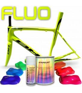 Kompletny zestaw lakierów fluorescencyjnych do roweru