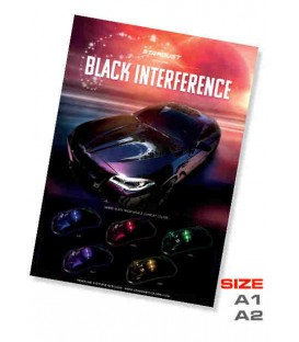 plakaty Black interference