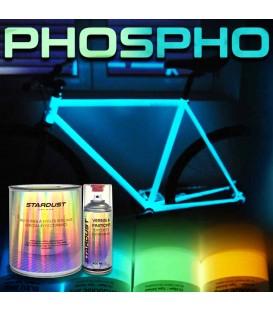 Kompletny zestaw lakieru fosforyzującego do roweru