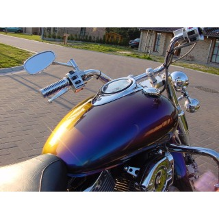 Zestaw do malowania motocykli - farba Kameleon